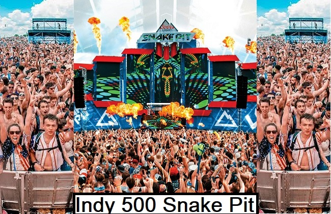 What is Indy 500 snake pit